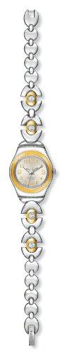 Swatch IRONY LADY LADY - Reloj analógico de mujer de cuarzo con correa de acero inoxidable multicolor