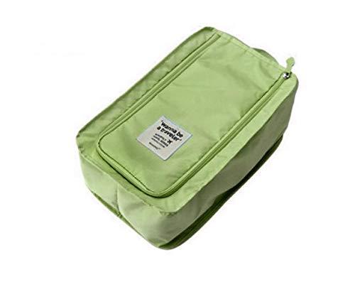 Chicya Bolsa de zapatos resistente al agua para todo tipo de zapatos organizador de zapatos, para viajar, para deportes, Verde (Verde) - 4802052254396