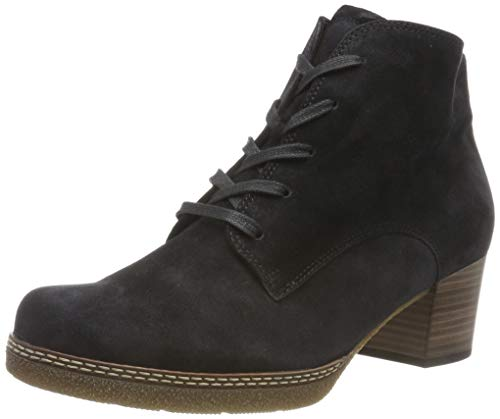 Gabor Shoes Damen Comfort Basic Stiefeletten, Blau (Pazifik.N/Micro) 36, 40 EU
