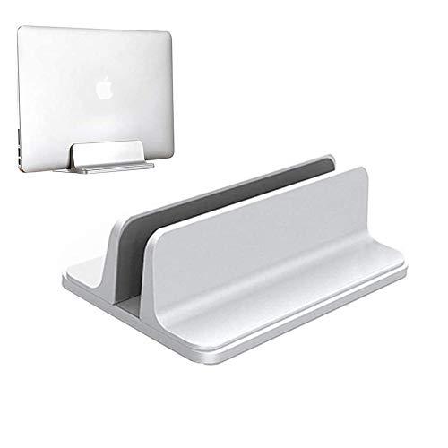 Houkiper Laptop Ständer Halter für MacBook, Einstellbare Vertikale Laptop Ständer Platzsparender Laptop Ständer für Surface Pro, Ultrabook, Lenovo, Dell