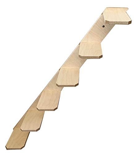 Elmato 13024 Katzenstufentreppe mit 6 Sprossen (rechts)