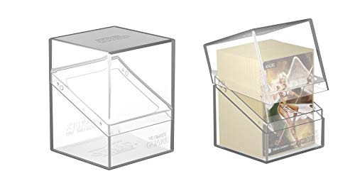Ultimate Guard Clear Boulder 80+ Heavy-Duty Deck Box Case Protector