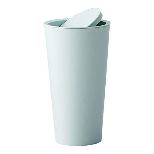 A-hyt Cubo de basura trompeta escritorio mesa papelera minifalda original cubierta cocina sala de estar oficina papelería organizador contenedor Dropship (color: D, tamaño: 16,5 x 8 cm)