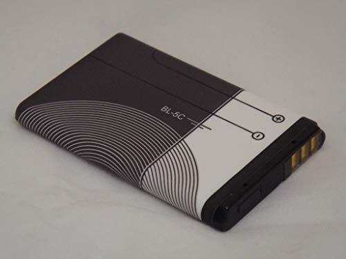 izzibuyer BL-5C BL5C - Batteria di ricambio per Nokia N70 N71 N72 N91 E50 2330 2600 2610 3110 3120 3610 3650 6230 6230i 6267 6270 1209 1280 1600 2710 2730 3100 6630 6670 6680 7610 1100 5130 6030 6085