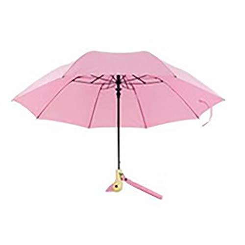 Automatische paraplu met dubbele functie, paraplu voor ultraviolet licht, trendy paraplu voor koppels