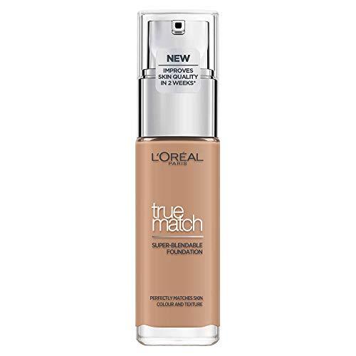 Maquillaje de L'Oréal Paris Perfect Match, D5 / W5 Golden Sand, 1er Pack (1 x 30 ml)