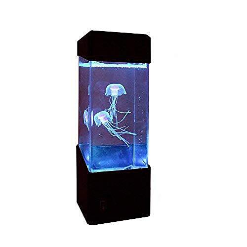 Qualle Licht elektrische Qualle Aquarium Farbe ändernde Stimmung Licht Hauptdekoration magisches Licht Nachtlicht Geschenk