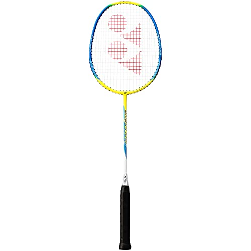 YONEX Nanoflare 100 Badminton Racket, Color- Yellow/Blu
