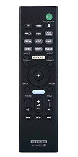 RMT-AH401U Remote Control Replacement Compatible with Sony Sound Bar...