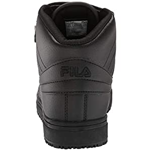 Fila Men's Work Food Service Shoe, Black/Black/Black, 10 M US