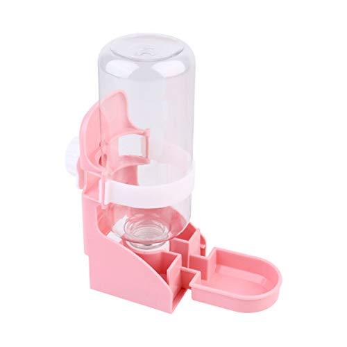 Balacoo Hamster Wasserflasche - 500Ml Meerschweinchen Automatischer Trinknapf für Käfige - Haustierflasche Hängende Wasserfütterungsflaschen Automatischer Spender für Kleintierkatzen