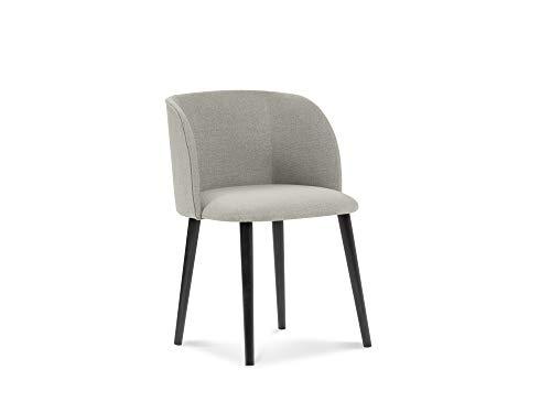 Windsor & Co Stuhl, Antheia, 1 Sitzer, Beige, 55 x 56 x 80 cm