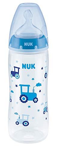 NUK Serenity Tetina de silicona ( 6-18 meses) con Biberón 360 ml