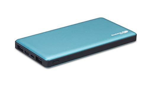 GP Batteries Powerbank MP10MA 10000 mAh, externer Akku mit 3 USB-Anschlüsse, USB Typ C, 5V 3A