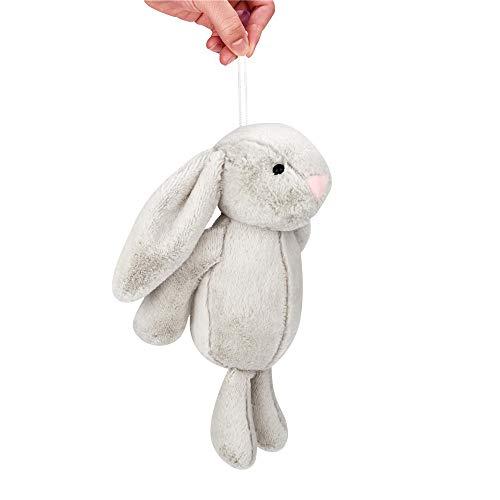 Honestyi Bambola di Peluche farcita Carino Grande Orecchio Bunny Collection Regalo di Pasqua Peluche Grande Orecchie Coniglietto Peluche 25cm