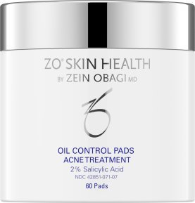 ZO Skin Health Oil Control Pads Acne Treatment, 2% Salicylic Acid- 60 pads formerly called'ZO MEDICAL Cebatrol'