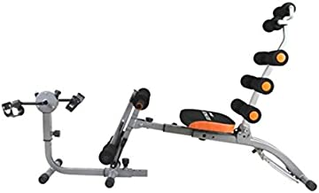 Marshal Fitness Six Pack Gym with Mini Bike Ab Machine