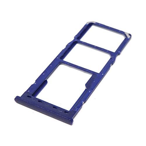 Vinciann-IT Cassettino alloggiamento carrellino Nano SIM Tray Compatibile con Galaxy A10 A105F - Blu