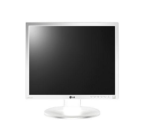 LG 19MB35PM-V 48,01cm 18,9Zoll TFT LCD Display LED AH-IPS 5:4 1280x1024 250cd 5Mio:1 1000:1 5ms 2x1W DVI-D D-SUB VESA TCO6.0 Weiss