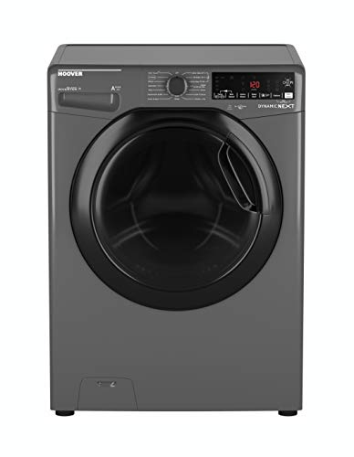 Hoover DWOAD610AHF7G Freestanding Dynamic Next Washing Machine, WiFi Connected, 10kg Load, 1600rpm, Graphite