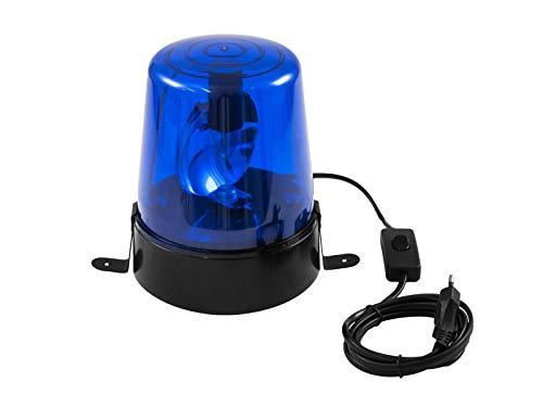 EUROLITE LED Polizeilicht DE-1 blau | Klassischer Deko-Effekt mit LED-Leuchtmittel