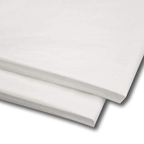 Sabco - Papel de seda, 100 hojas, papel de regalo, sin MG ni ácidos, tamaño de 50 x 75 cm, papel para envolver, decorativo y papel de corte para manualidades 20 x 30