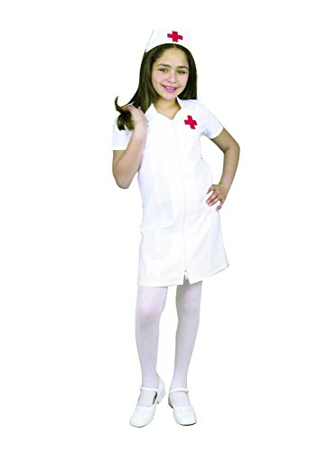 Charades Child's Registered Nurse Costume, White, Small