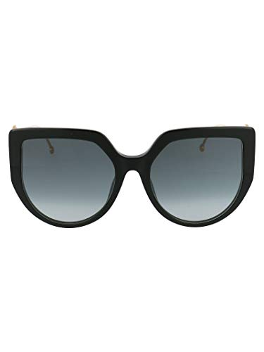 FENDI Luxury Fashion Donna FF0428FS8079O Nero Occhiali Da Sole | Primavera Estate 20