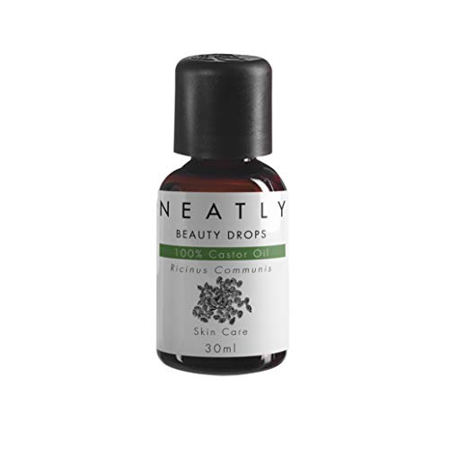 Castor Oil Beauty Drops de Neatly I 30 ML I Anti-Âge et Anti-Rides I Nourrissante et Hydratante I Confère à la Peau Souplesse et Douceure I 100% Huile de Ricin I Alternative à la Crème Hydratante
