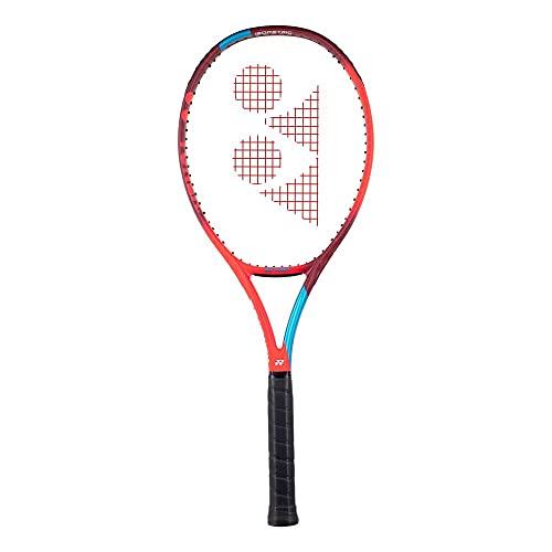 YONEX New Vcore 100 Tango Red Encordado: No 300G Raquetas De Tenis Raquetas De Competición Rojo - Azul 4