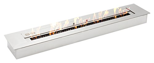 Moda Flame EPB4036 Pro 36' Ethanol Fireplace Burner Insert