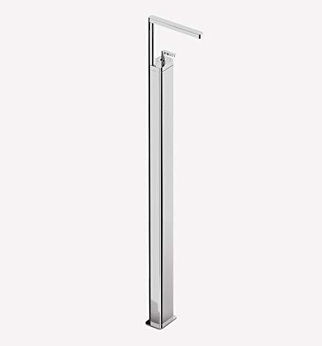 Extra hoge designer stand-wastafelarmatuur eengreepsmengkraan met kolom in chroom, bijzonder geschikt voor vrijstaande wastafels, wastafels, wastafels etc, Serie Living