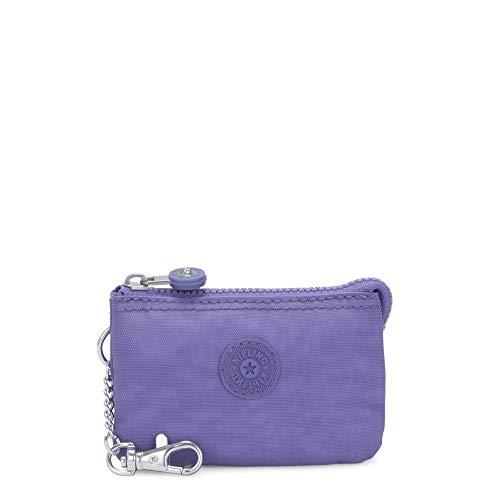 Kipling Damen Mini Creativity Key Chain Geldbörse, Violett/Eggplant Purple, Einheitsgröße
