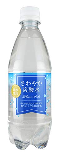 木村飲料 さわやか炭酸水 500ml×24本
