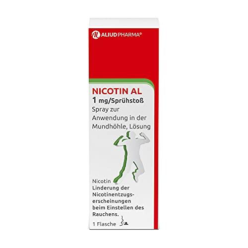 ALIUD PHARMA Nicotin AL 1 mg/Sprühstoß Spray zur Anwendung in der Mundhöhle: Lösung gegen Rauchverlangen