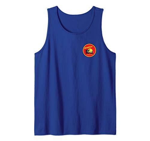 Baywatch Lifeguard Small Circle Logo Tank Top for Men, Women