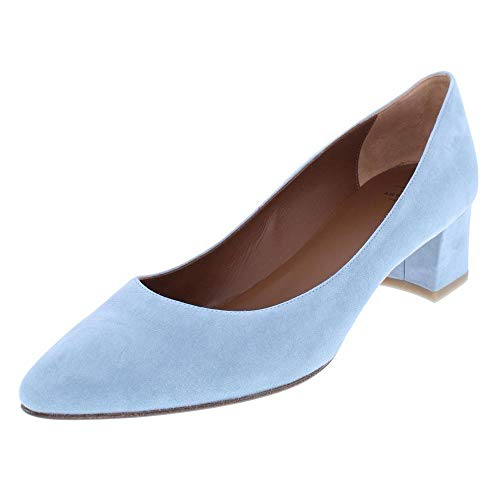 Aquatalia by Marvin K. Womens Pheobe Suede Pointed Toe, Chambray, Size 6.0