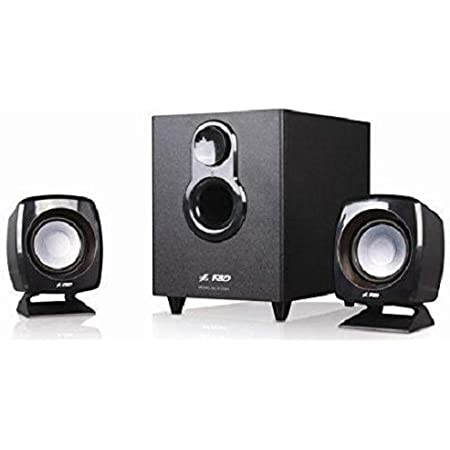 F&D F203G 11W 2.1 Multimedia Speaker System - Black