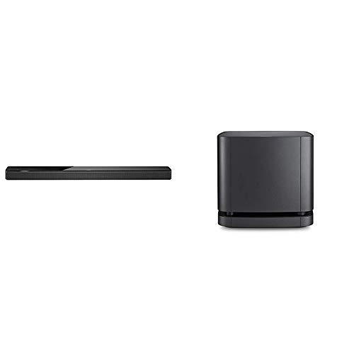 Bose Soundbar700, schwarz + Lautsprecher Bass Module 500, schwarz, mit Alexa-Integration