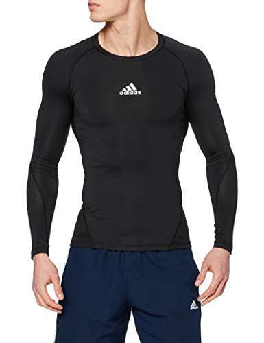 adidas Herren Ask SPRT LST M Long Sleeved T-Shirt, Black, L