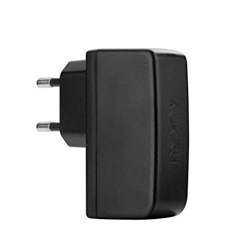 Aukru 2in1 USB Netzadapter Ladegerät 5V/2000mA mit Micro USB Kabel für Raspberry Pi, Samsung Galaxy S6/S5/S3, Galaxy Tab 3, Note 4/3/2, Google Nexus 7,MP4, HTC One M8,Nokia 520, Motorola, LG und weite