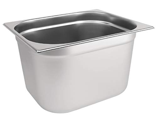 Vogue K932stainless steel pan Gastronorm 1/2, 200mm