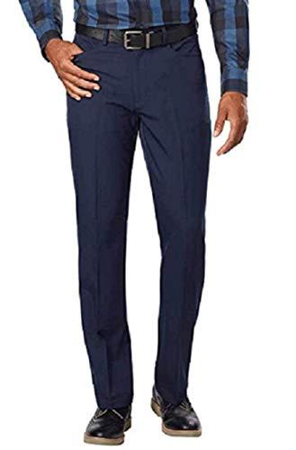 Greg Norman Men's 5 Pocket Travel Pant (38x34, Navy)