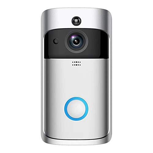 Wireless Remote Video Türklingel Pro, Arbeit mit IP65 wasserdichte HD 720P Überwachungskamera Echtzeit Video PIR Bewegungserkennung & Nachtlicht