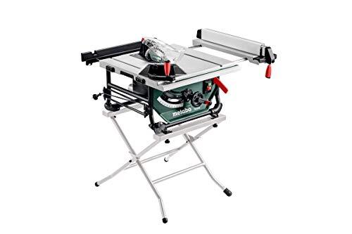 Metabo Tischkreissäge TS 254 M Set (mit Untergestell, 1500 W, Sägeblatt 254x30 mm, Säge klappbar, Tischverlängerung) 691154000