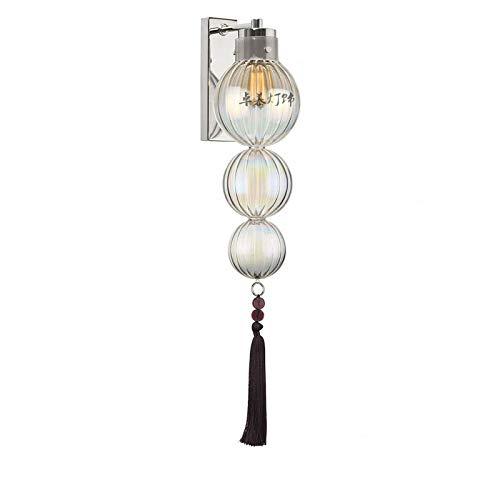 See_Chart wandlamp pompoen van Deens koper, modern design, helderder woonkamer