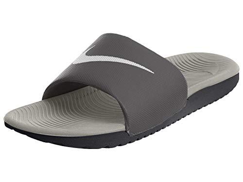 Nike Nike Herren Kawa Slide Sneakers, Mehrfarbig (Dark Grey/White/Wolf Grey 001), 40 EU