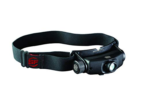 Surefire HS3-A-BK Maximus Linterna Frontal Recargable con Salida de LED Variable - 500 lúmenes