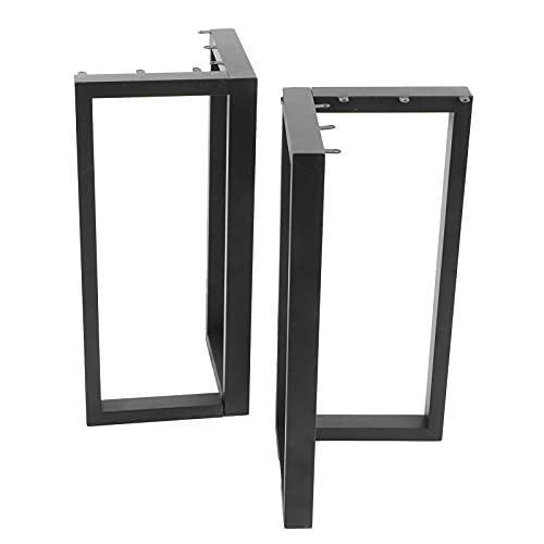 Pata de mesa de metal, patas de mesa de comedor DIY Hierro forjado Muebles de metal Pata de apoyo Accesorios para el hogar Negro