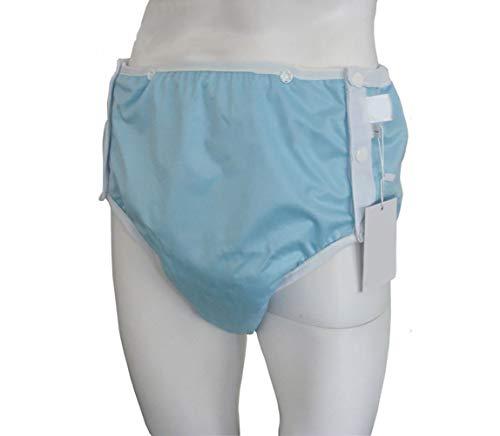 Healifty Wasbaar ondergoed Luiers voor volwassenen Herbruikbare incontinentiebroeken Doek Luieromslagen Wasbaar Overnacht Lekvrij ondergoed,L